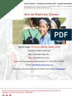 Mystère du Haut Laos 12 jours
