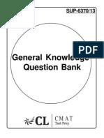 CMAT GK Question Bank