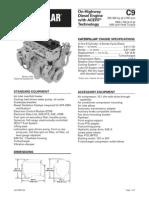 Caterpillar C9 Engine Specs