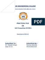 Cs 801 Practicals