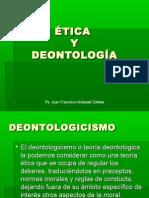 ÉTICA Y DEONTOLOGÍA