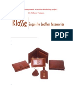 Leather Products Marketing