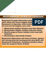 MUSYAWARAH AMBALAN PENEGAK