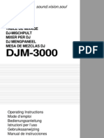 Djm-3000 Manual en Fr de Nl It Es
