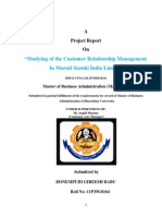Customer Relationship Project 1