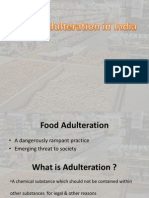Food Adulteration in India