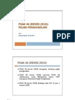 M01 - PSAK 46 & ISAK 20 - Pajak Penghasilan