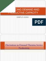 9. Balancing Demand & Productive Capacity