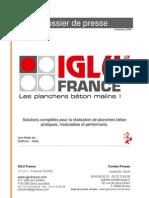 Dossier de presse Iglù France_nov2008