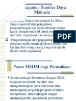 Minggu 4 Dan 5 - SDM Dan Organisasi