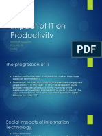 Impact of IT on Productivity