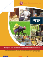 Prospects for Investment in South Asian Microfinance (2009)