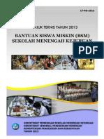 Bantuan siswa miskin smk 2013