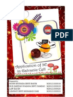 Application 3E Teaching Method in Galvanic Cell