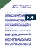 Prólogo de José Luis Sampedro en