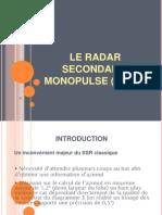 Le Radar Secondaire Monopulse (Mssr)