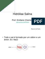 Teoria Hidrolise Salina