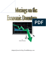 Torah Musings on the Economic Downturn