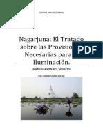 Nagarjuna El Tratado sobre las Provisiones Necesarias para la Iluminación.