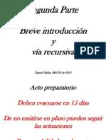 SEGUNDA PARTE Procedimiento Inicial 2