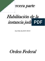TERCERA PARTE Habilitaci%F3n de Instancia