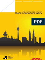 DHL/BCC Trade Confidence Index Q1, 2013