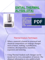 Differential Thermal Analysis (DTA).ppt
