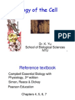 BS1004 Biology of Cell.lec3