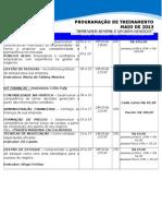 05 Programacao 2013 - Maio