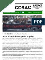 Cataccrac 1 de Maig. Ni Ue Ni Capitalisme. Poder Popular!