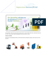 Impressions Services (P) Ltd - Company Catalog