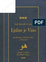 Ljubav je vino - Šejh Muzaffer Ozak