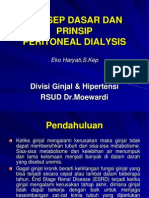 Konsep Dasar Dan Prinsip Peritoneal Dialisa