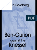 [Giora Goldberg] Ben-gurion Against the Knesset (c