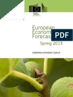 EU Economy - Spring 2013 Forecast