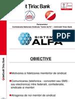 Prezentare Sistemul Alfa 29-IV-2013