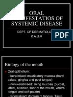 (2) Oral Manifestatios of Systemic Disease