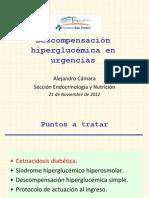 Hiperglucemia urgencias