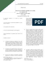 Directive 2009_105_CE Version Originelle