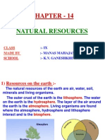 14 Natural Resources