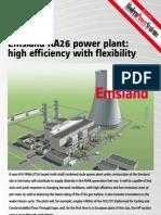 Emsland Germany Ka26 Ccpp Project Datasheet