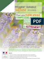 Plan de développement de l'apiculture 2013-2015