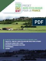 Projet agro-écologique pour la France