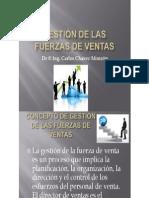 GESTIÓN DE LAS FUERZAS DE VENTAS