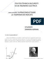 Materiale Supraconductoare La Temperaturi Ridicate