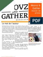Dossier de Presse Moovz&Gather