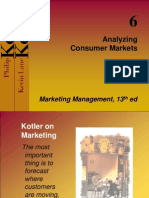 Chapter 6 - Analysing Consumer Market