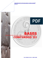 BASES DEL CONCURSO DEL PROYECTOS PARA EL CONEII - CUSCO2009