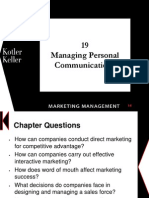Chapter 19- Managing Personal Communication