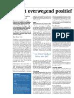 Markt overwegend positief over ketenintegratie
